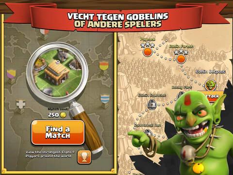 Clash of Clans iPad app afbeelding 4