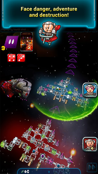 Galaxy Trucker Pocket iOS