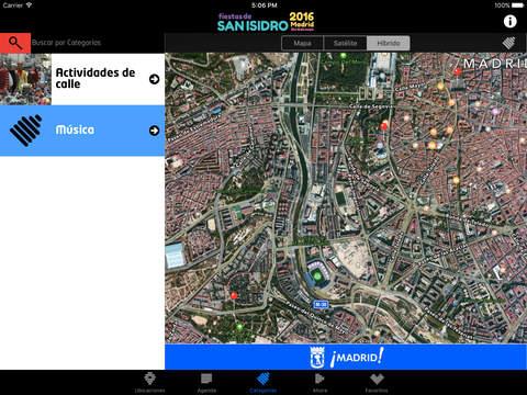 Captura de pantalla del iPad 5