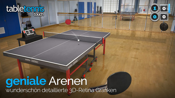 Screenshot 2 Table Tennis Touch