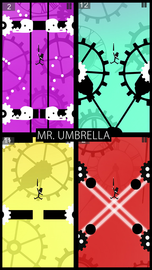 Mr. Umbrella iOS Screenshots