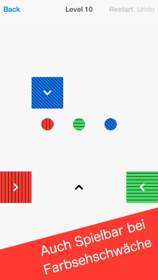 Squares - Kniffliges Puzzle Spiel iOS