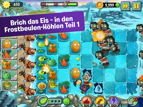 Plants vs. Zombies™ 2 iOS Screenshots