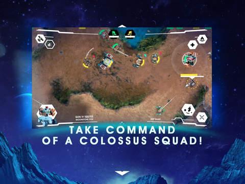 Colossus Command iOS Screenshots