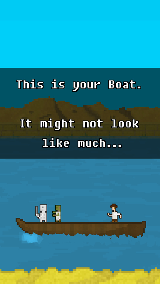 You Must Build A Boat iOS Screenshots