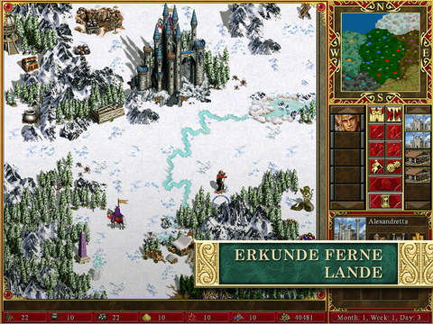 Heroes of Might and Magic III – HD Edition iPhone iPad