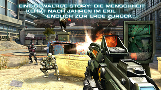 N.O.V.A. 3: Freedom Edition - Near Orbit Vanguard Alliance game iOS Screenshots