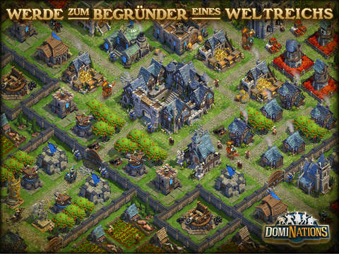 DomiNations iOS Screenshots