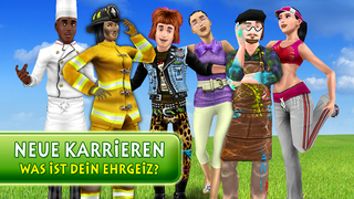 Die Sims 3 Traumkarrieren iOS Screenshots