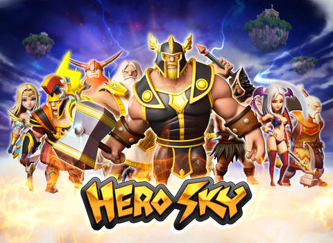 Hero Sky: Epische Gildenkriege iOS Screenshots