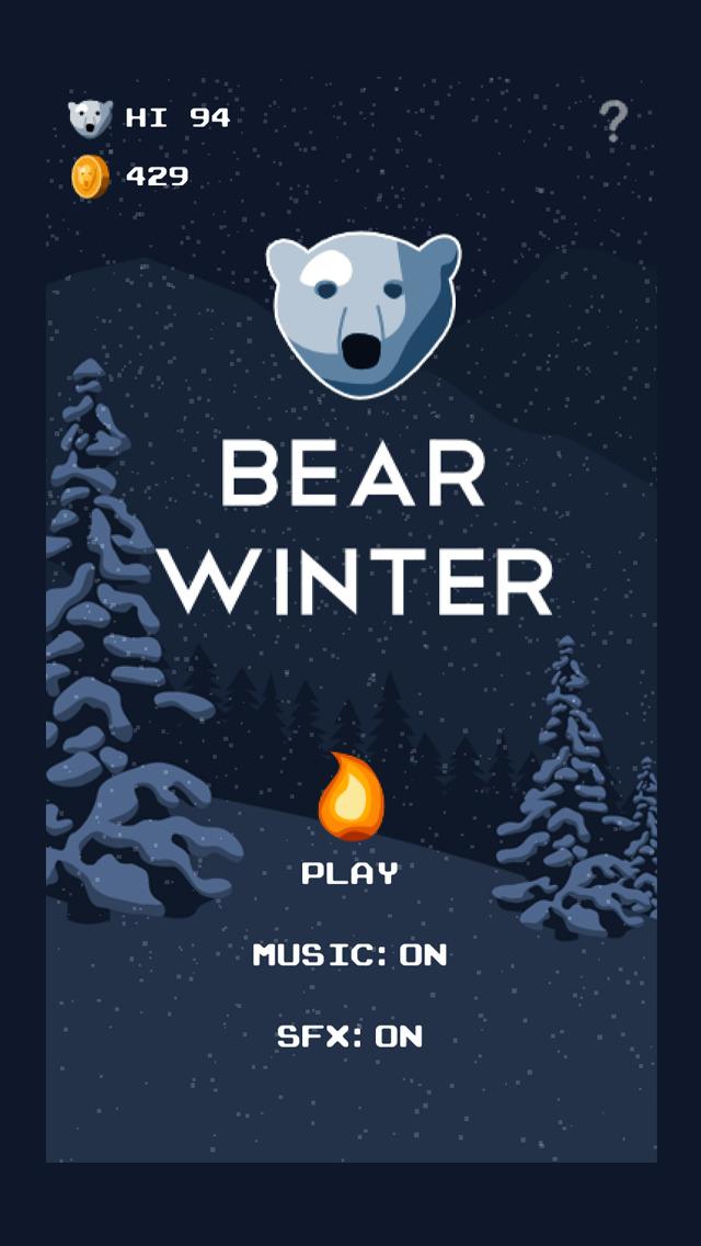Bear Winter iOS Screenshots