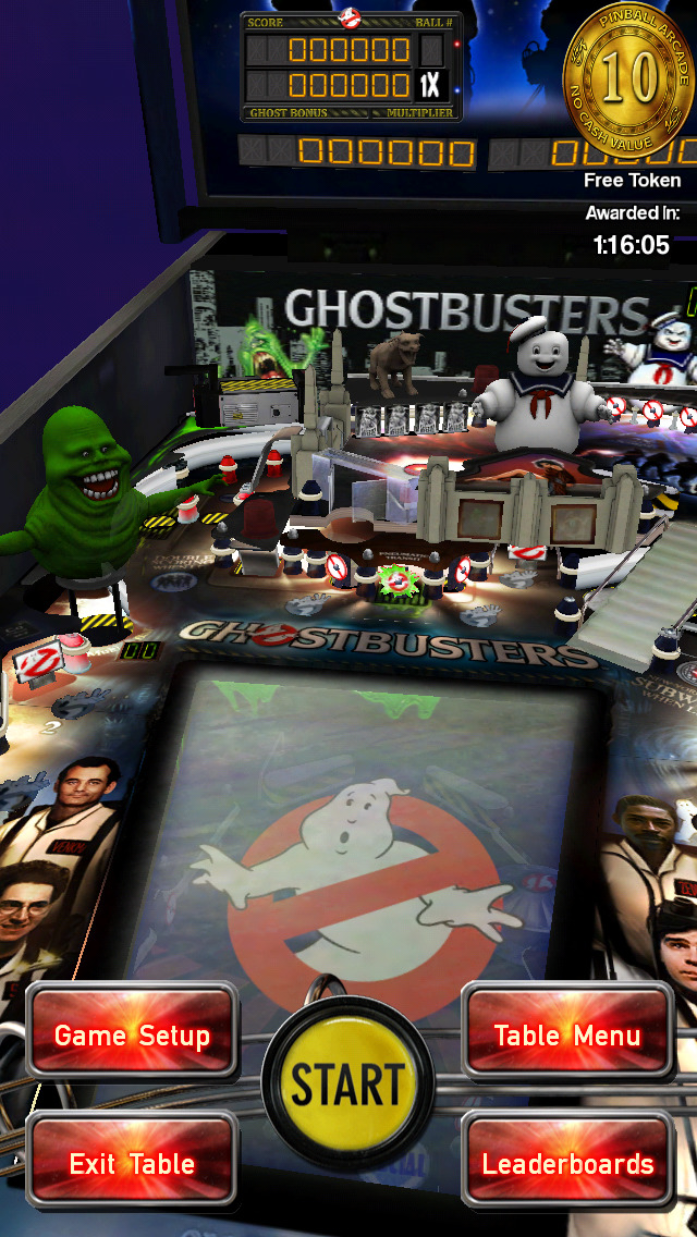 Ghostbusters Pinball iOS Screenshots