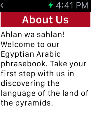 Egyptian Arabic Dialect Phrasebook - Beckley Institute Screenshots