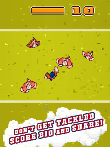 Touchdown Hero iPhone iPad