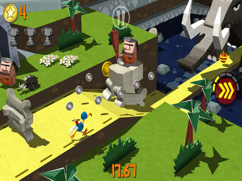 Screenshot 4 Cartoon Survivor - Jurassic Adventure Runner
