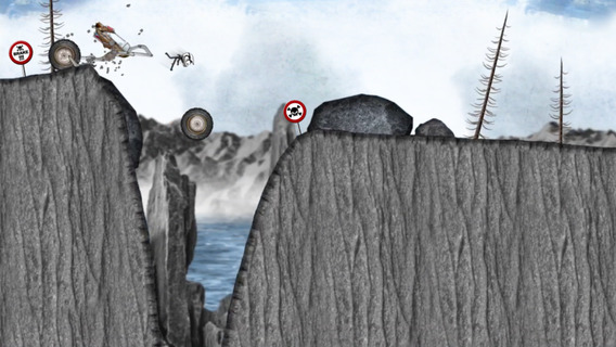 Stickman Downhill - Monster Truck iPhone iPad