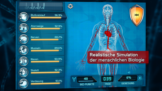 Screenshot 2 Bio Inc. Platinum - Biomedical Plague