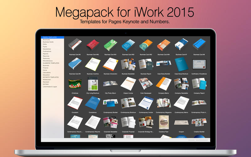 iwork pages page coloring - photo#31