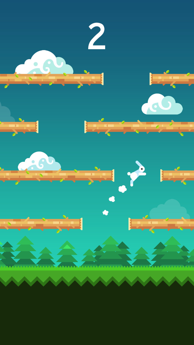 Rabbit Jump iOS Screenshots