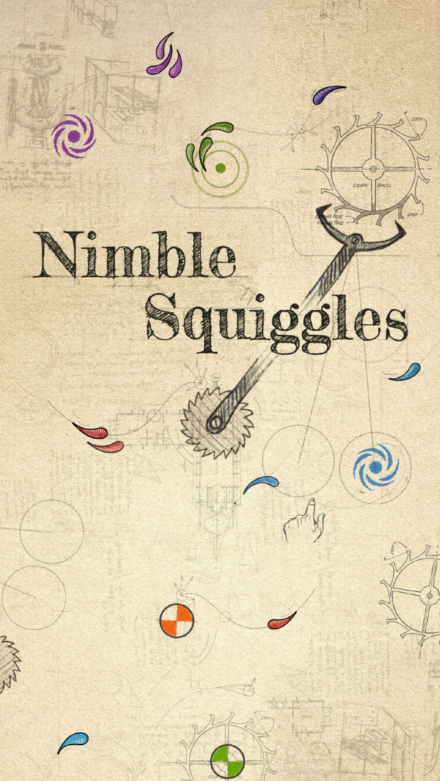 Nimble Squiggles iOS Screenshots