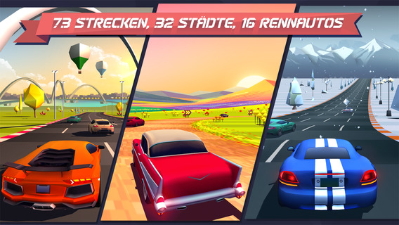 Horizon Chase - World Tour iPhone iPad