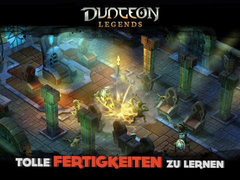Dungeon Legends iPhone iPad