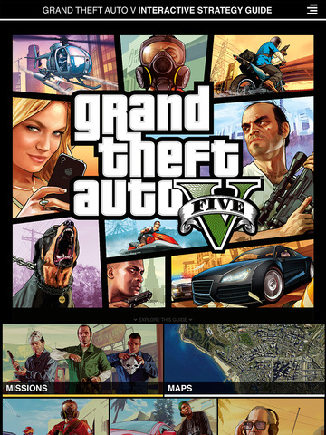 grand theft auto v official interactive strategy guide app insight download. Black Bedroom Furniture Sets. Home Design Ideas