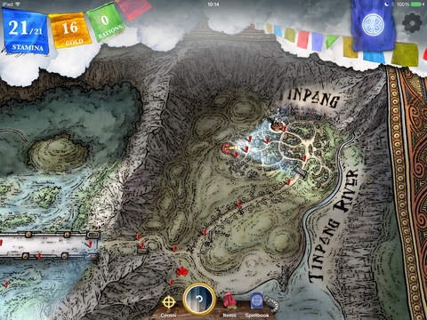 Sorcery! 3 iOS Screenshots