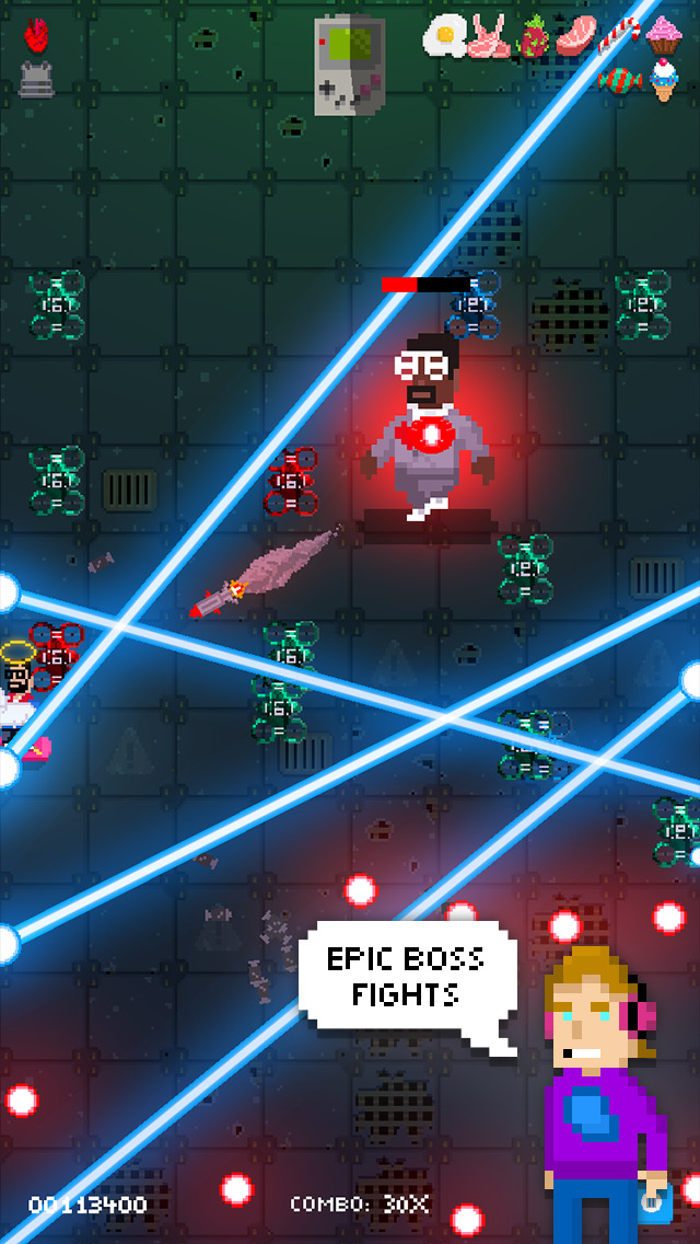 Shooting Stars! iOS Screenshots