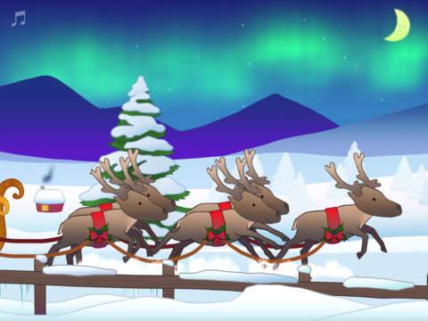 De slee van de kerstman Screenshot