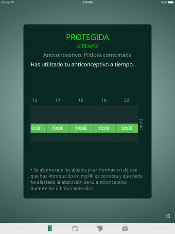 myPill® Recordatorio de Anticonceptivo Screenshot