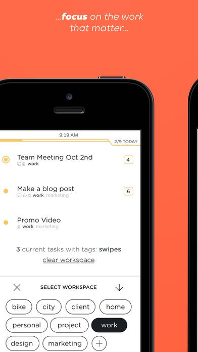 Swipes -  Planea, Programa y Logra tus Tareas Screenshot