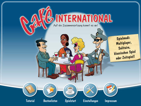 Café International iOS Screenshots