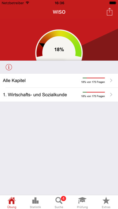 Screenshot for Prüfung WISO in Germany App Store