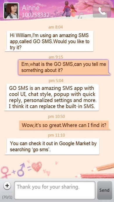 download GO SMS Pro 2017 by GO Dev Team apps 0