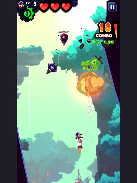 Screenshot 1 Missileman
