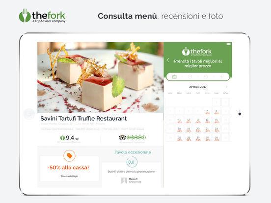 TheFork – Prenotazione ristoranti e offerte Screenshot