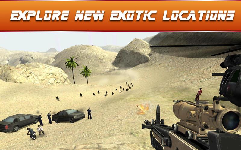 Sniper Ops 3D Shooting Game - Fun Assassin Shooter Screenshot