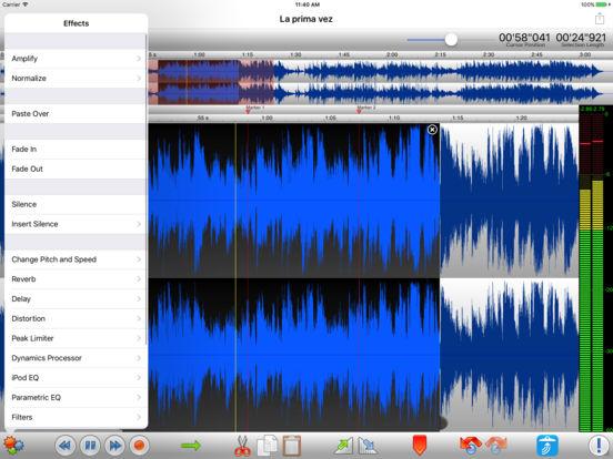 TwistedWave Audio Editor Screenshot