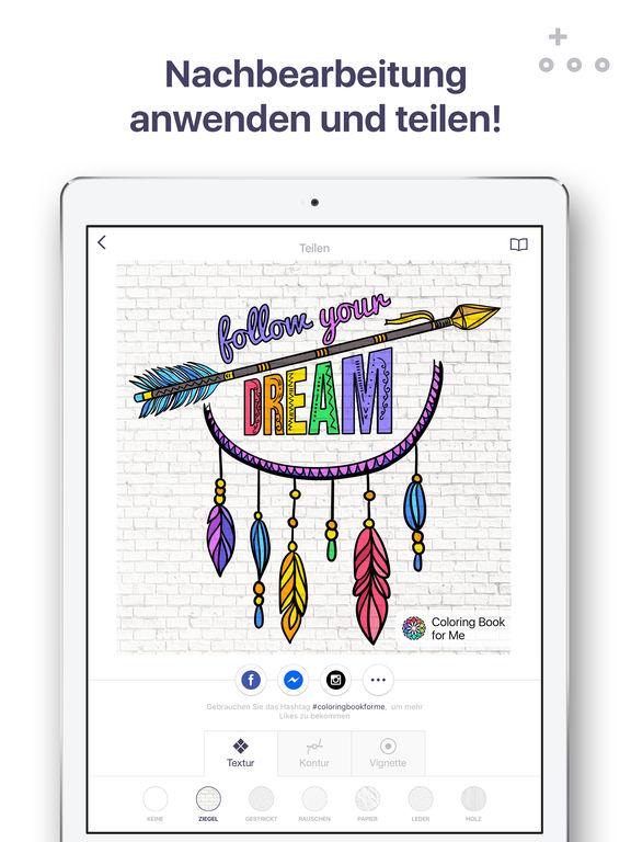"""Malbuch für mich - Malvorlagen für Erwachsene"""" im App Store"""