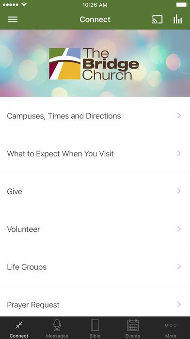 The Bridge Church App
