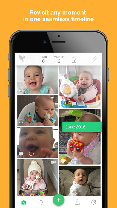 download Lifecake. The private place for families. appstore review
