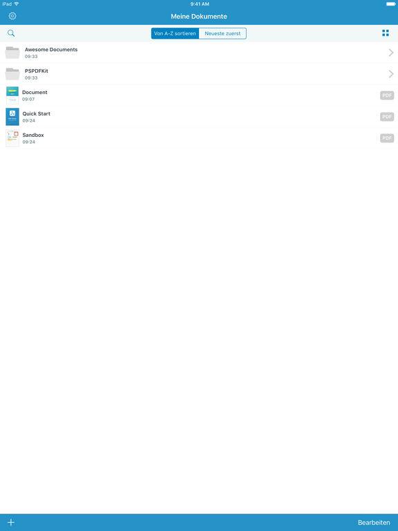 PDF Viewer – Lesen, Überarbeiten und Kommentieren Screenshot