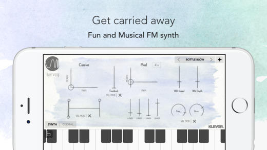Baervaag - FM Synthesizer Screenshot