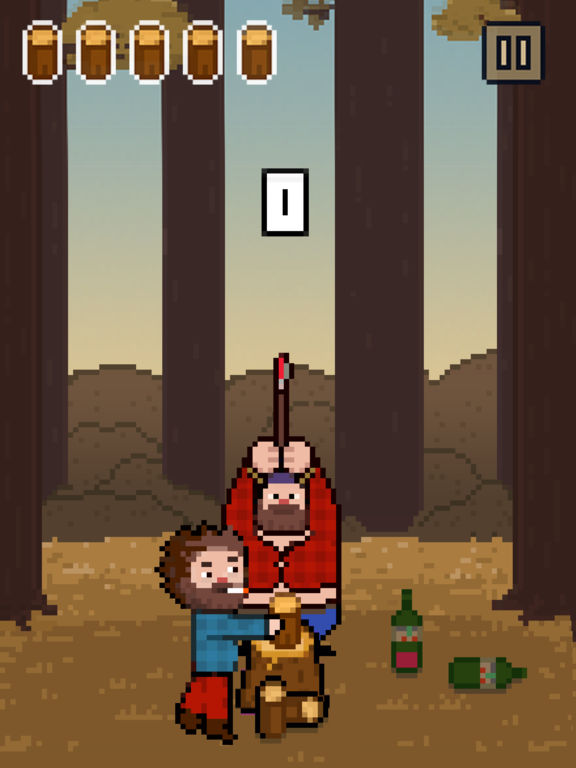 Chopping Wood With My Dad Simulator iPhone iPad