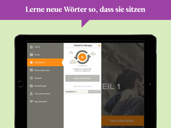 Babbel – Sprachen lernen: Englisch, Spanisch Screenshot