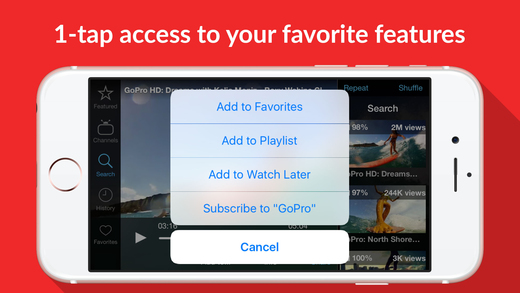 Tube : download the life saver for YouTube videos Screenshot