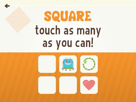Kleinkind Lernen Spiele Ask Me Farbe & Shape Screenshot