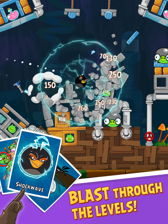 Angry Birds HD Screenshot