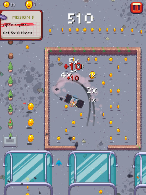 Screenshot 3 Pixel Drifters